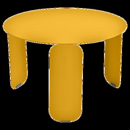 Низкий стол Ø 60 см - BEBOP - Яркие цвета