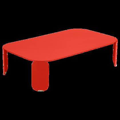 BEBOP  - Низкий стол 120x70 см (высота 29 см (Сезонная аренда)
