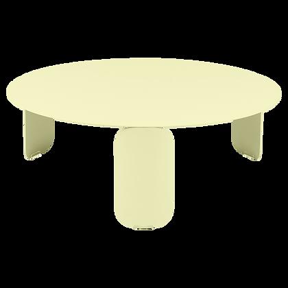 Низкий стол Ø 80 см - BEBOP - Яркие цвета