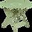 Thumbnail: Складной стол Ø 96 см - LORETTE - Классические цвета