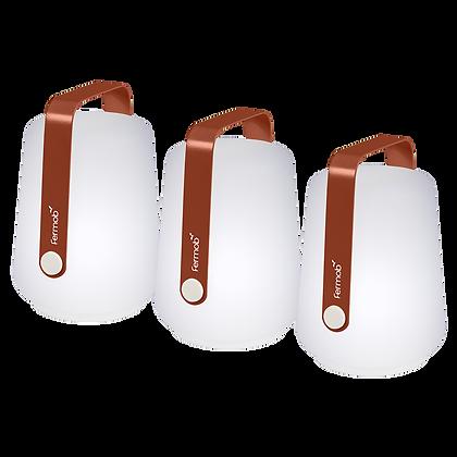 Набор 3х беспроводных светильников 12 см - BALAD