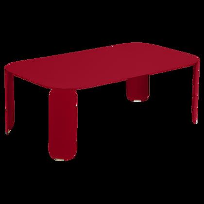 Низкий стол 120x70 см (высота 42 см)- BEBOP - Яркие цвета