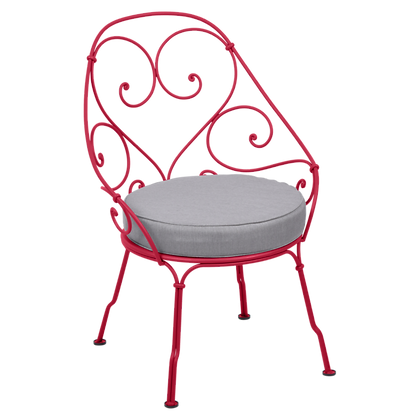 Кресло кабриолет (серая подушка) - 1900 - Яркие цвета