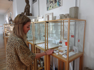 Decorative Arts student Olivia McCulloch reflects on her work placement here at the Craft Centre...