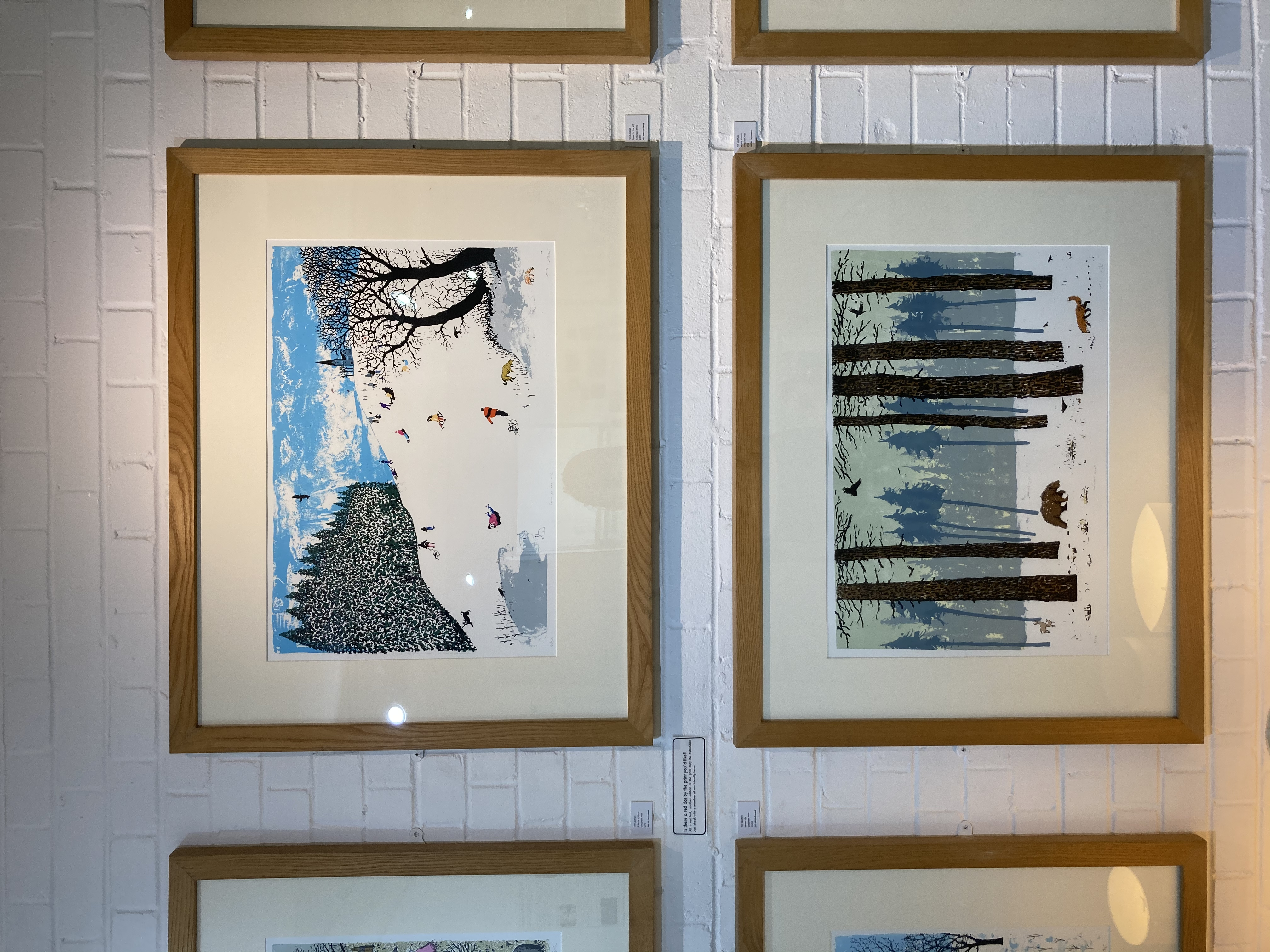 Winter Print Exhibition Tim Southall