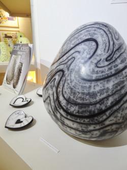 Moyra Stewart's work on display...
