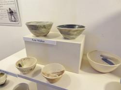 Kate Welton's work on display.