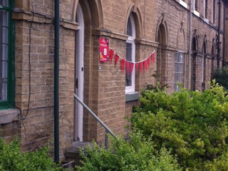 On the Saltaire Arts Trail...