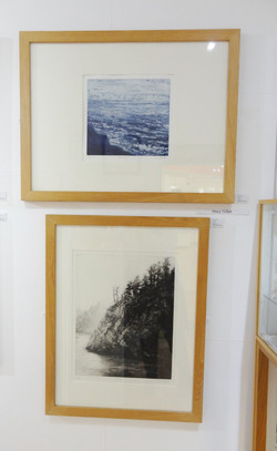 Mary Gillett's etchings on display