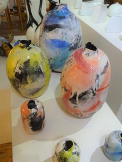 Emily Stubbs work on display.