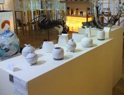 Sandra Whyles work on display.