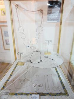 Julia Smith's jewellery on display.