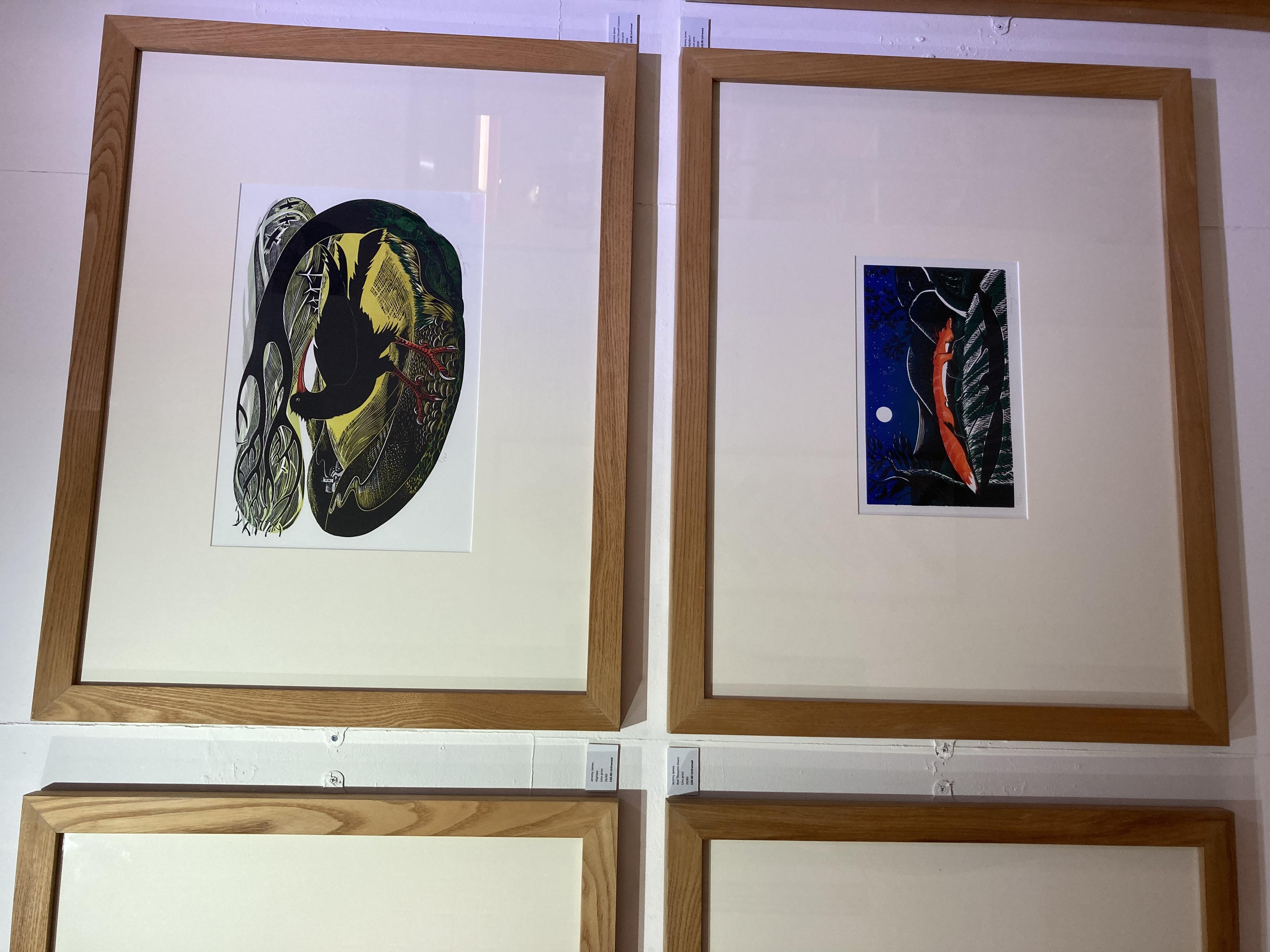 Winter Print Exhibition Jeremy James