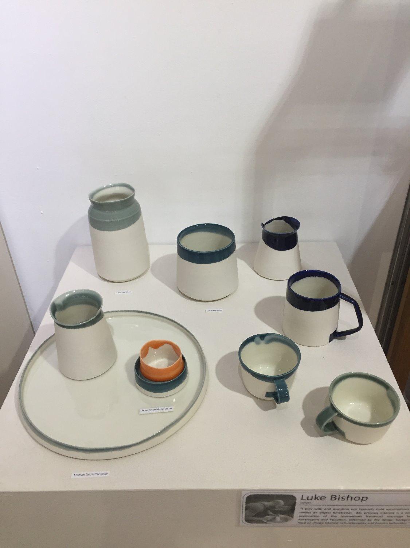 Luke Bishop porcelain