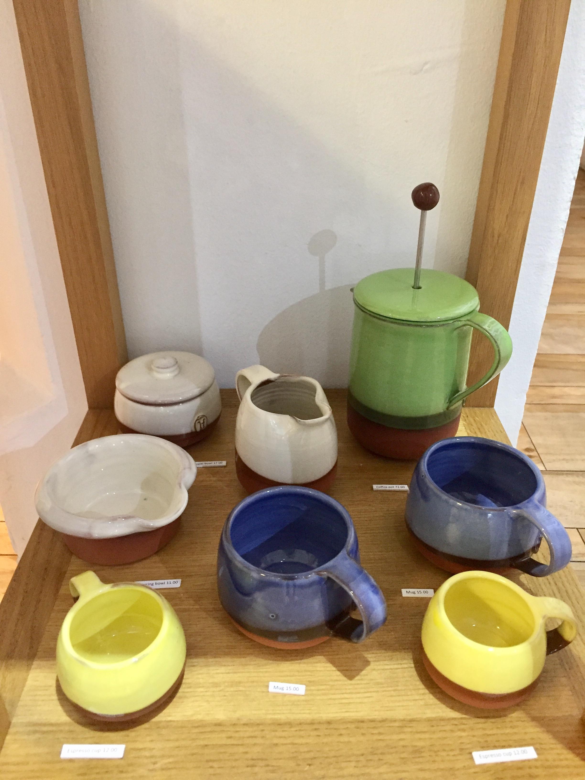 Helen Faulkner terracotta collection