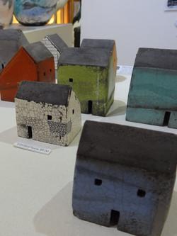 Rowena Brown's work on display.