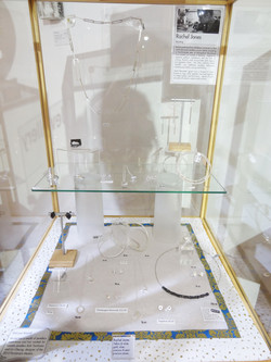 Rachel Jones jewellery on display.