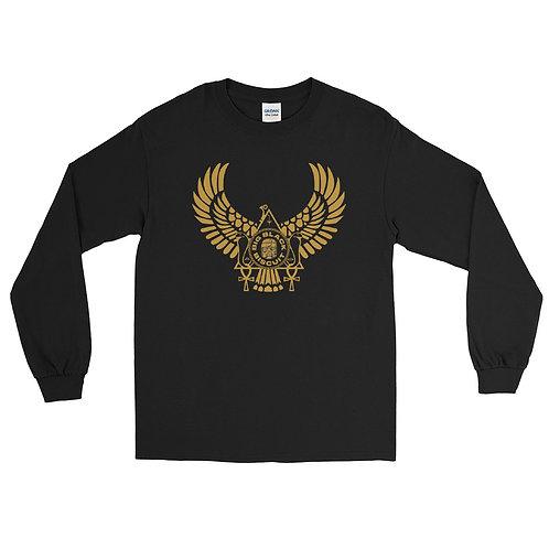 Gold Bird BLK Longsleeve