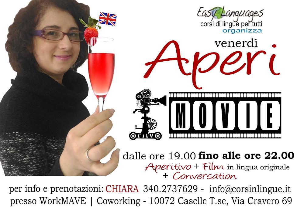 AperiMOVIE | l'aperitivo del venerdì sera in lingua inglese