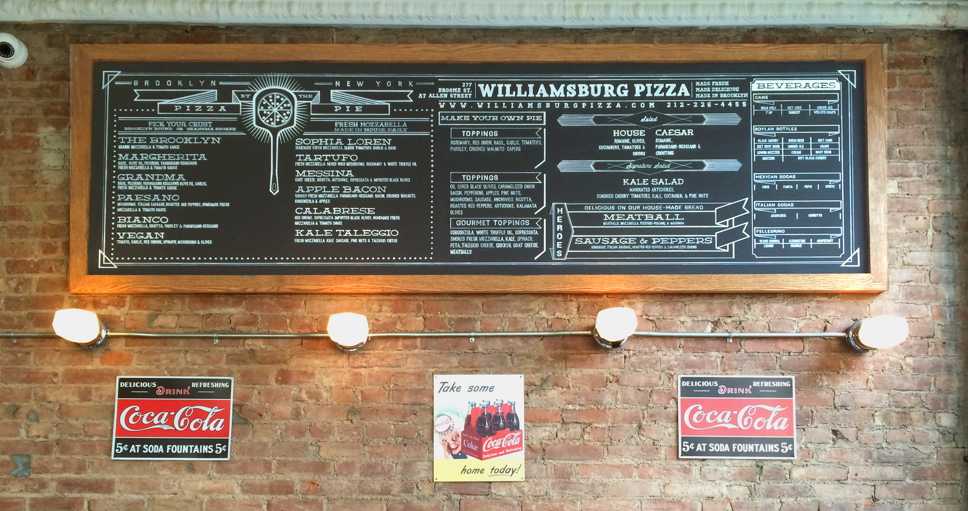 Williamsburg Pizza, Lower East Side