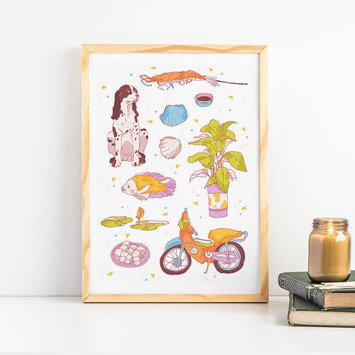 Vietnam 02 Art Print
