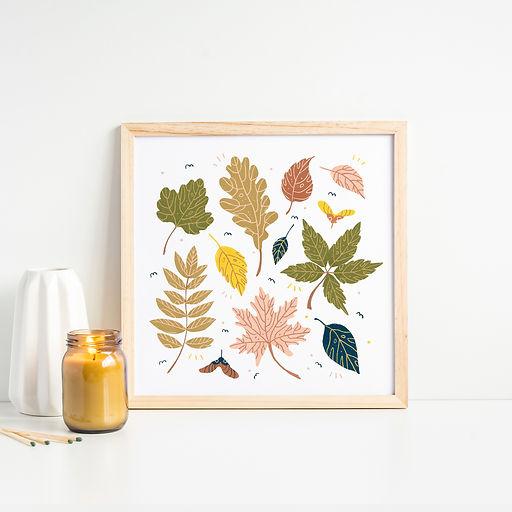 Autumn Leaves by Gosia Grodzka