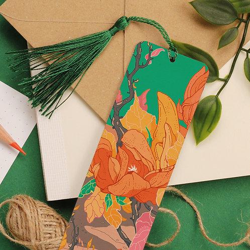 Green Garden Aluminium Bookmark