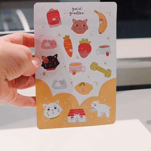 New Friends Sticker Sheet