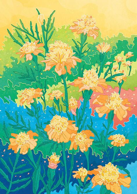 Yellow Flowers Gosia Grodzka