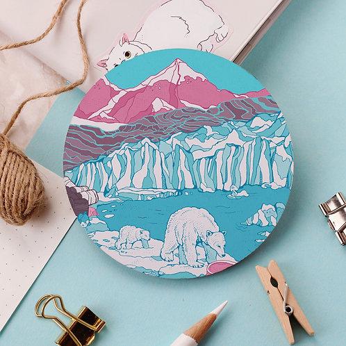 Polar Bears Coaster