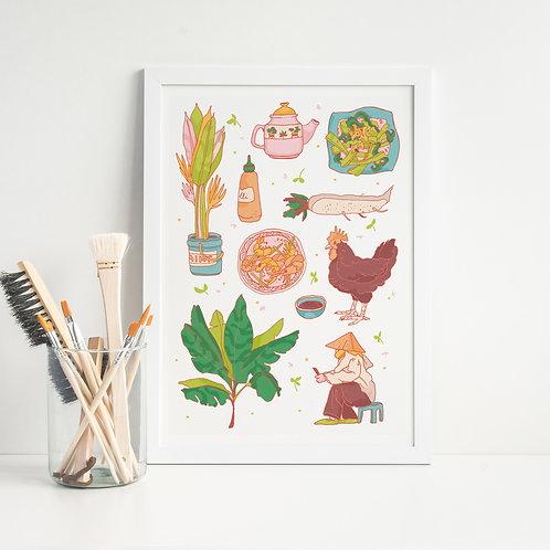 Vietnam 01 Art Print