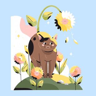 Cat or Cow by Gosia Grodzka