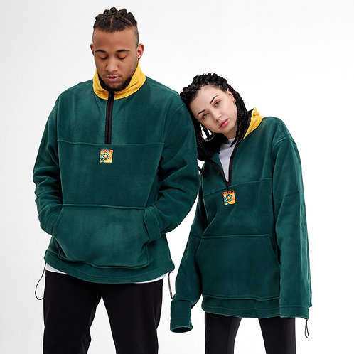 Green-Yellow Polar Fleece