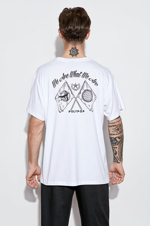 We Are What We Are T-Shirt White
