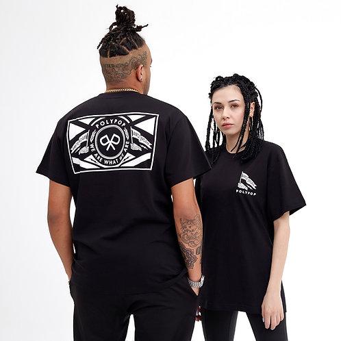 """Polypop x Amsterdam"" T-Shirt Black"