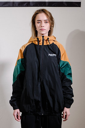 Black Cut'n Sew Raincoat