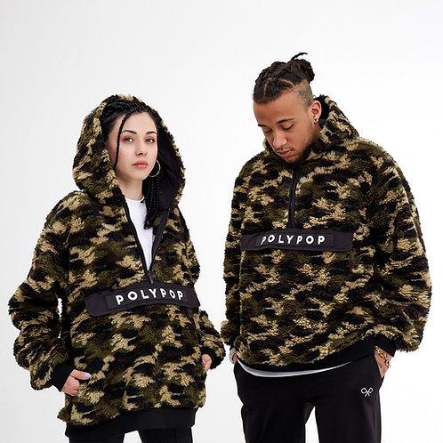Camouflage Sherpa Hoodie