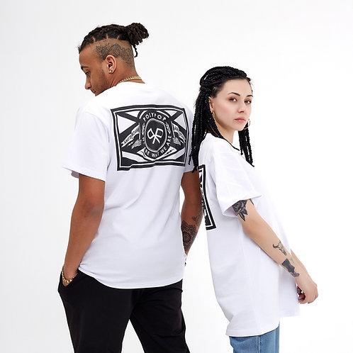"""Polypop x Amsterdam"" T-Shirt White"