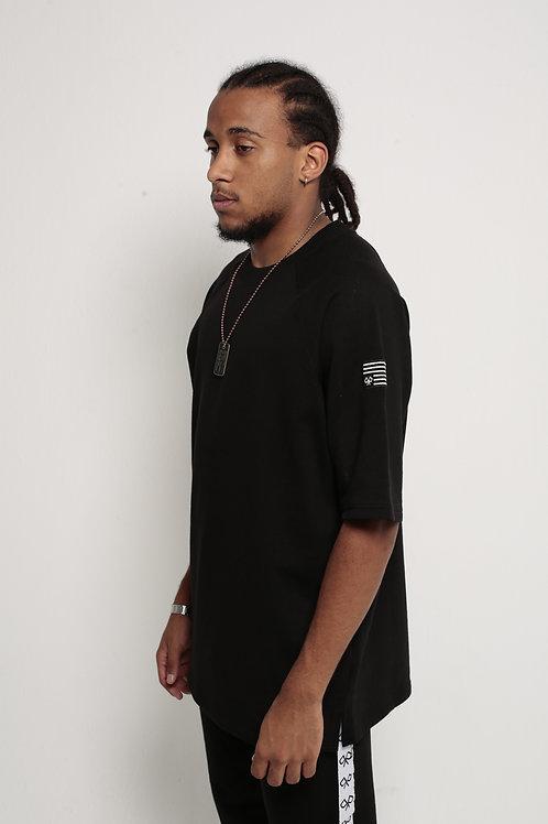 Antiflag Oversized T-Shirt Black