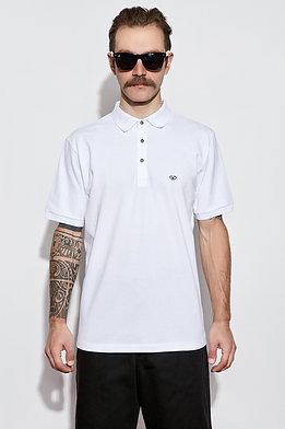Diurnal White Polo Shirt