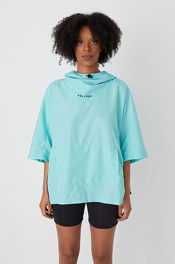 3/4 Sleeve Windbreaker Mint
