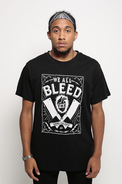 """""""Bleed"""" T-Shirt Black"""