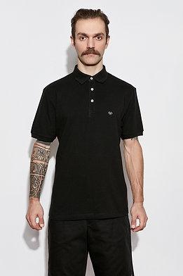 Nocturnal Black Polo Shirt