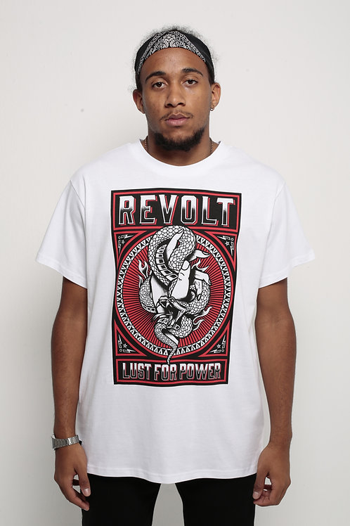 Revolt T-Shirt White