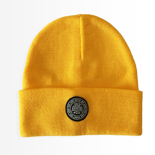 """Around the World"" Yellow Beanie"