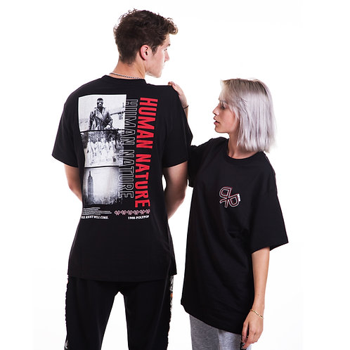 """""""Human Nature"""" T-Shirt Black"""