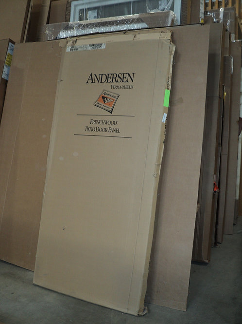 Andersen 3068 Patio Door Panel - White