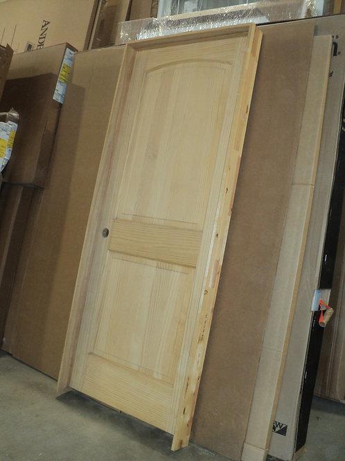 2 Panel Arch Pine Interior Door