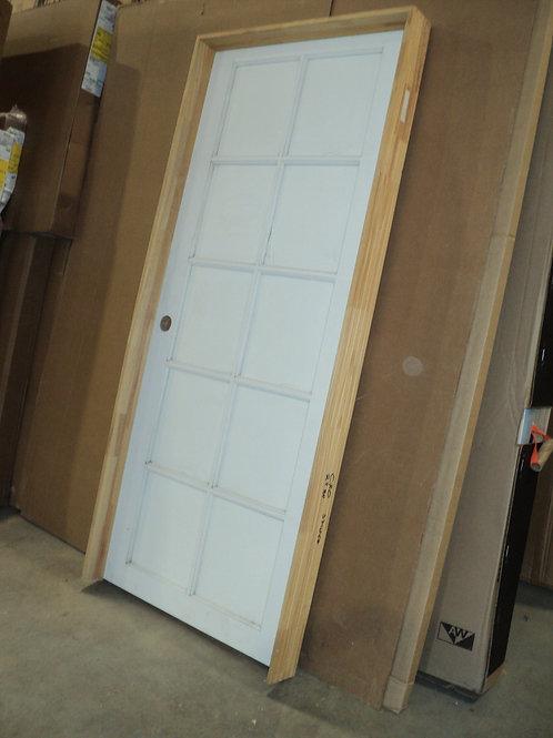 10-Lite Primed Interior Door