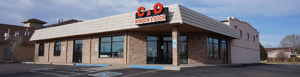 C&O Widow and Door | Pueblo | Colorado